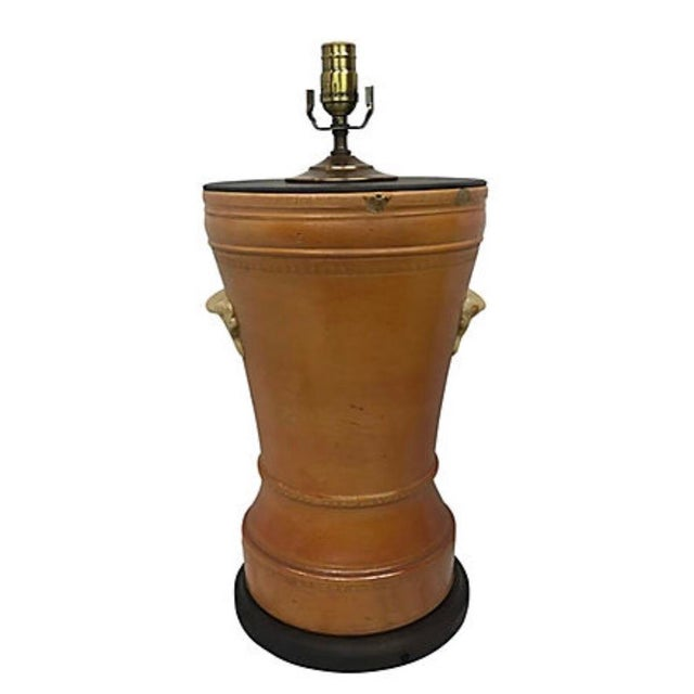 Traditional 19th Century Ceramic Water Filter Lamp For Sale - Image 3 of 4