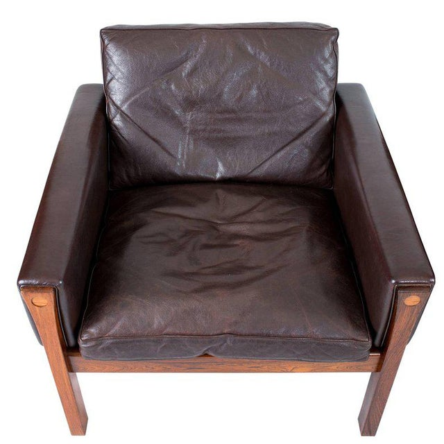 Pair of Hans Wegner AP 62 Lounge Chairs For Sale - Image 10 of 10