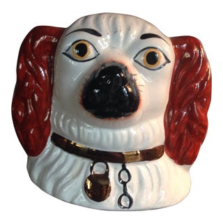 Staffordshire Dog Head Bank For Sale