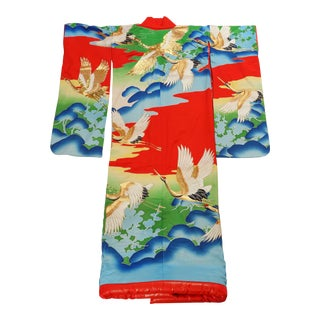 Vintage Collectable Japanese Ceremonial Kimono For Sale