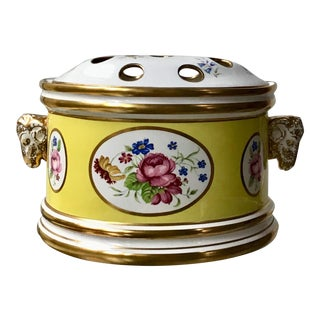 Antique Reproduction Limoges Bulb Pot For Sale