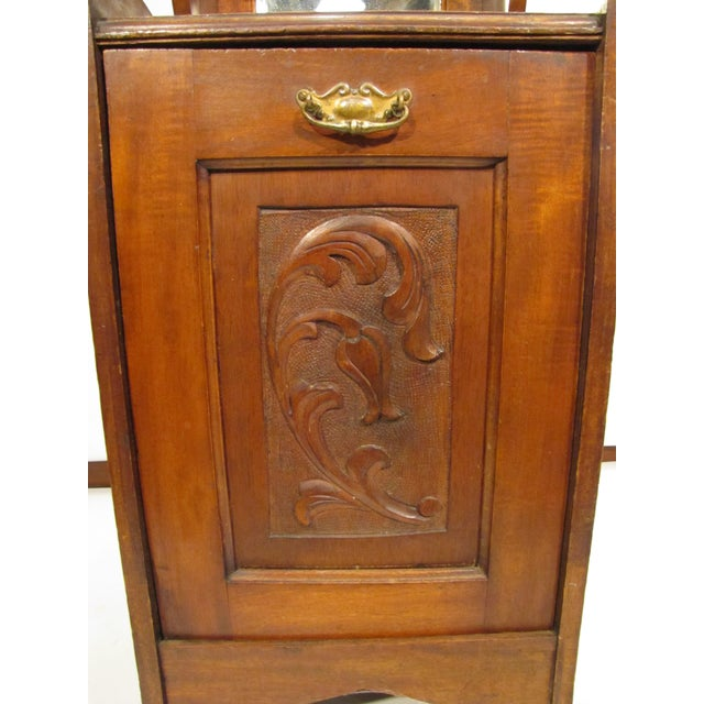 English English Wooden Coal Hod For Sale - Image 3 of 8