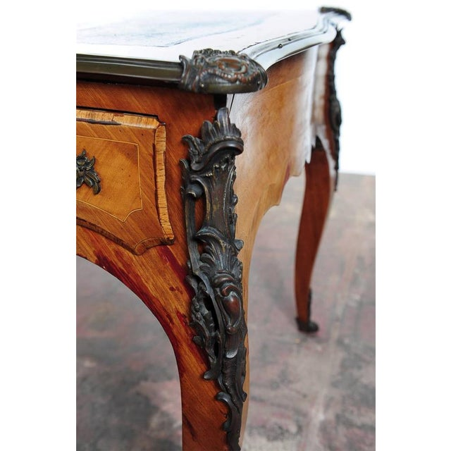 Antique Louis XV 19th Century Writing Desk - Image 4 of 8