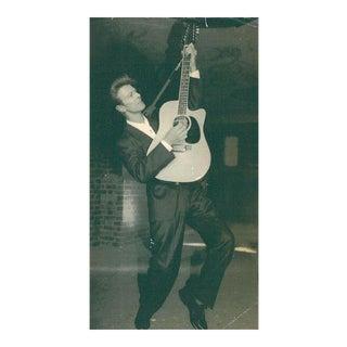 Vintage David Bowie Photograph, Late 1970's