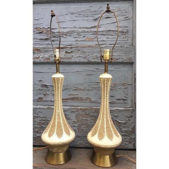Ceramic Rare Quartite Creative Corp. Genie Lamps - a Pair For Sale - Image 7 of 7