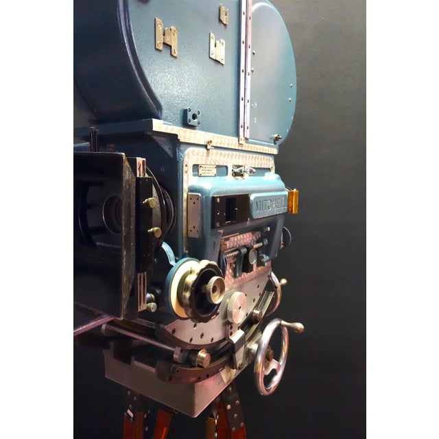 Vintage Mitchell Bnc-R Feature Film Camera Ex: John Ford & Paramount Studios For Sale - Image 4 of 13