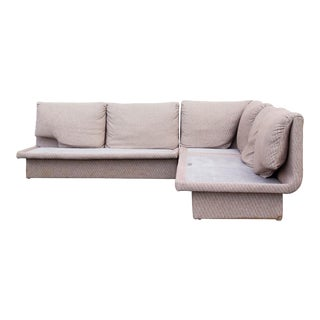 Postmodern Three Piece Sectional Sofa by Bernhardt - Set of 3 For Sale