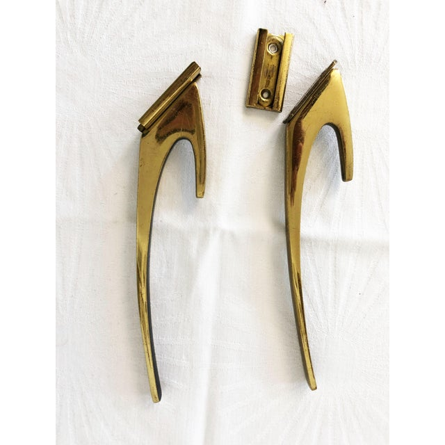 Brass Coat Wall Hooks by Hertha Baller Set of 2 For Sale - Image 12 of 13