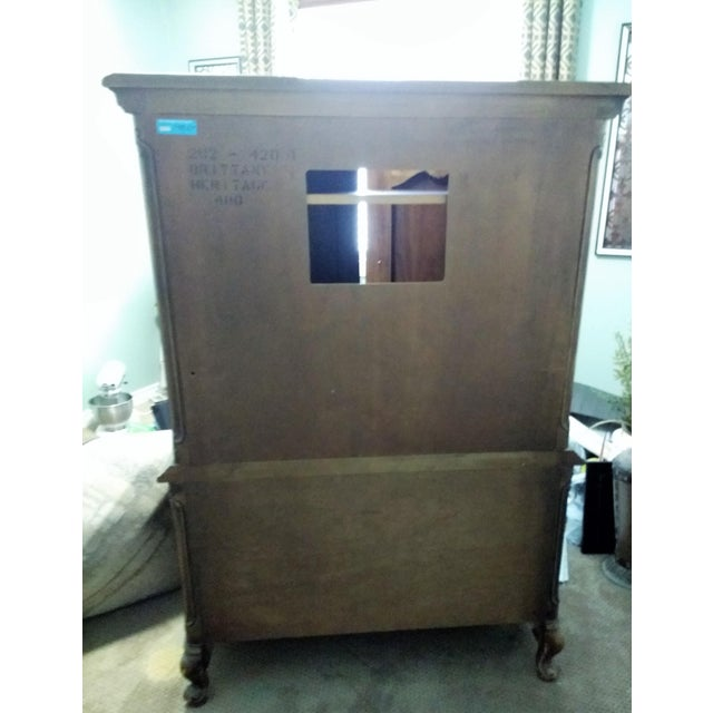 Drexel Heritage Mid 20th Century Drexel Heritage Armoire For Sale - Image 4 of 11
