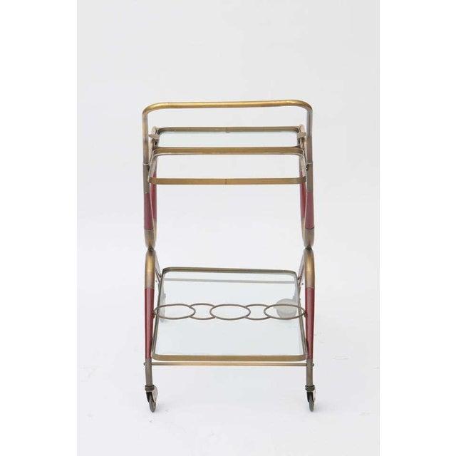 Cesare Lacca Italian Bar Cart For Sale - Image 5 of 10