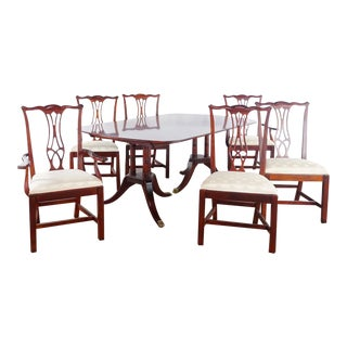 Drexel Heritage Dining Set- 7 Pieces For Sale