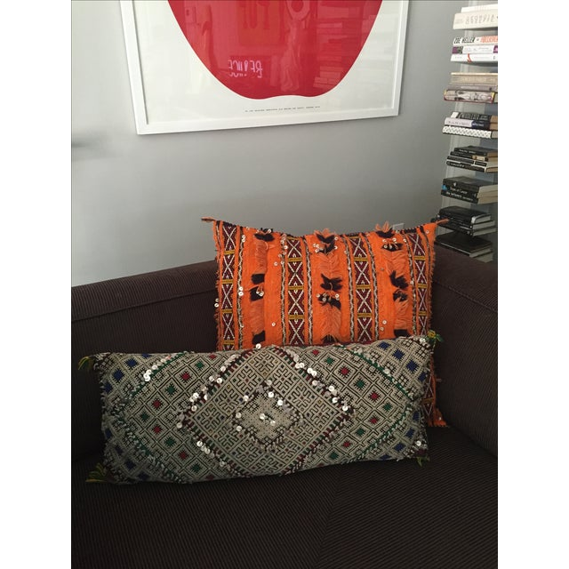 Tangerine Dream Berber Pillow - Image 5 of 5