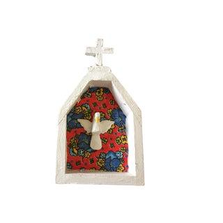 Primitive Holy Spirit Bird W/ Halo For Sale