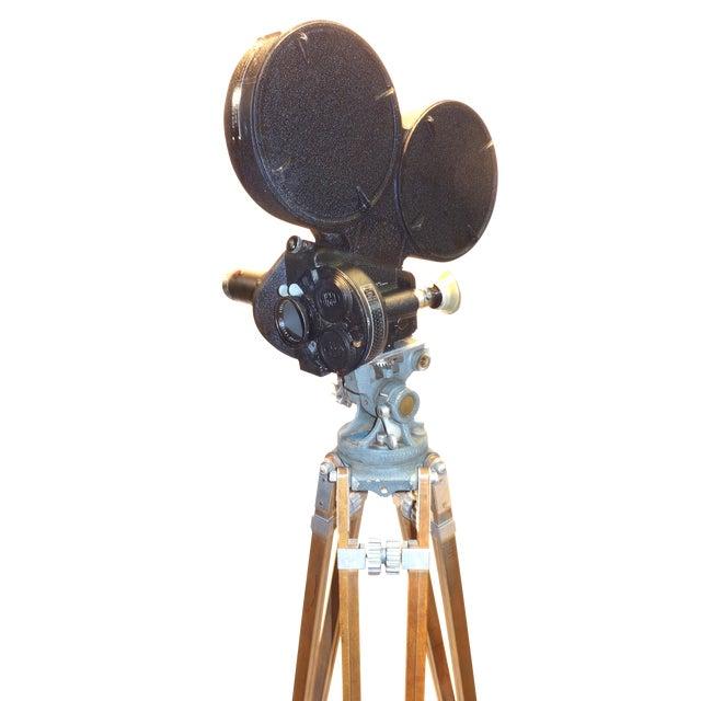 CineFlex 35mm Movie Camera Ww-II Designed Combat Camera, Pristine Time Warp Unit For Sale
