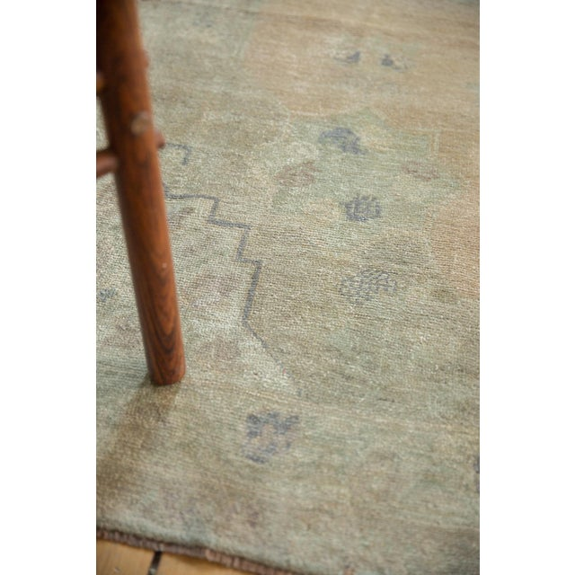 "Vintage Distressed Oushak Carpet - 5'4"" x 9'11"" For Sale In New York - Image 6 of 14"