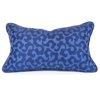 Cobalt Blue Lumbar Pillow