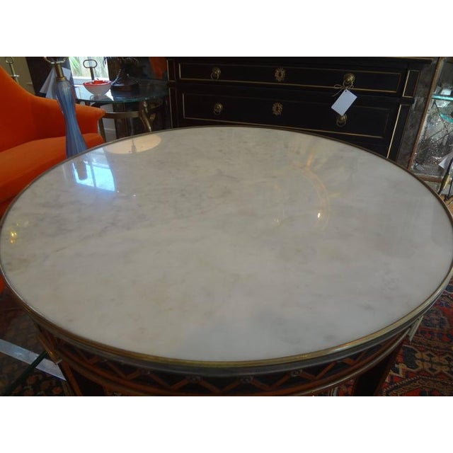 1940s 1940 French Louis XVI Style Maison Jansen Table For Sale - Image 5 of 8