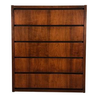 Lane Mid-Century Modern 5-Drawer Dresser / Chest For Sale
