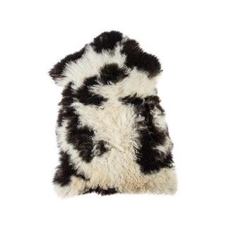 """Contemporary Natural Sheepskin Pelt - 2'0""""x3'2"""" For Sale"""