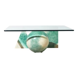 Stone Shapes Coffee Table For Sale