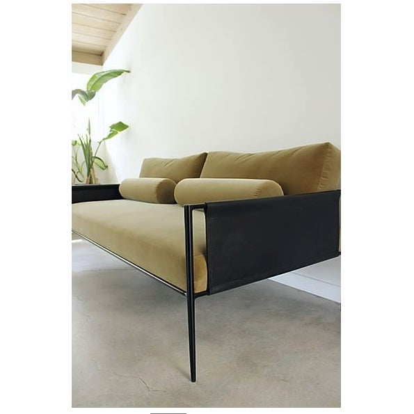 Contemporary Lucca Sofa by Fluxco Design For Sale - Image 3 of 7