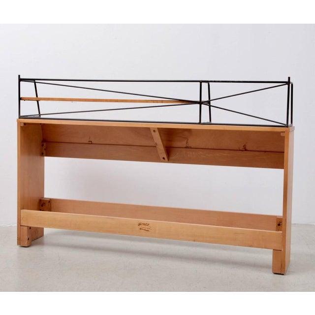 """1950s Paul McCobb Wrought Iron """"Planner Group"""" Headboard for Winchendon For Sale - Image 5 of 6"""