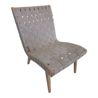 Knoll Risom Lounge Chair For Sale