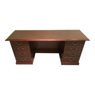 Traditional Mahogony Desk For Sale