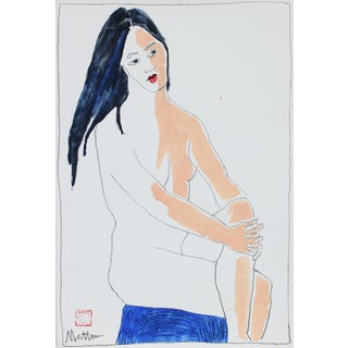 1999 Nude Figure Painting by Rip Matteson