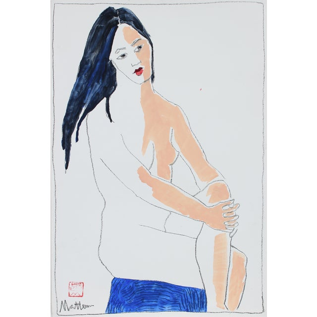 1999 Nude Figure Painting by Rip Matteson - Image 1 of 3