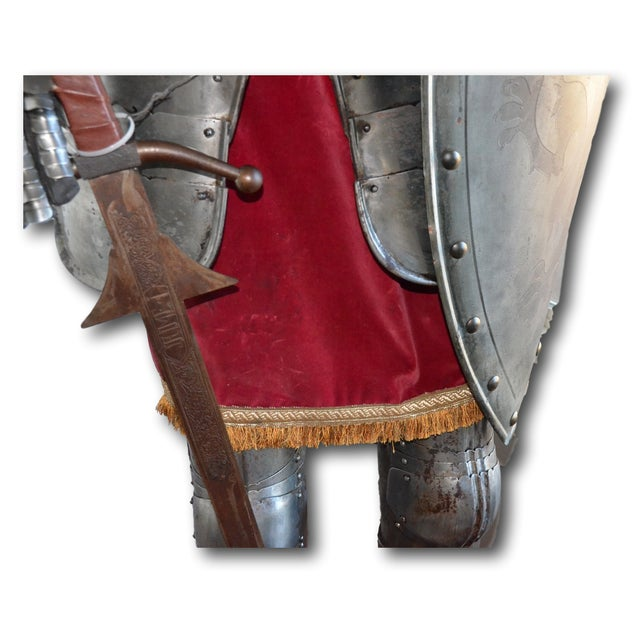 Repro Brogan Medieval Suit of Armor - Image 7 of 11