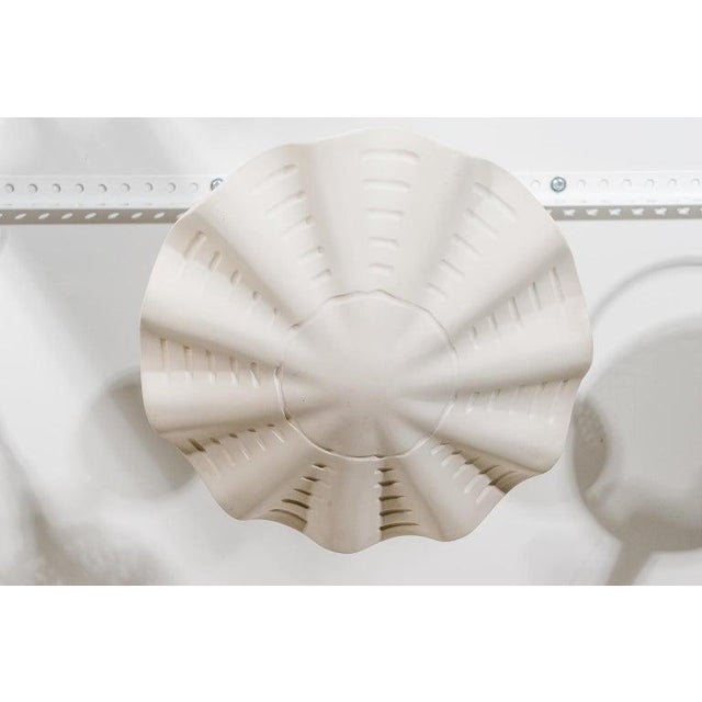 """Resin Sirmos """"Sand Dollar"""" Shell Form Chandelier For Sale - Image 7 of 11"""