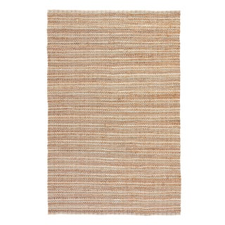Jaipur Living Cornwall Natural Striped Beige/ Blue Area Rug - 5′ × 8′ For Sale