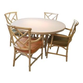 Vintage Ficks Reed Dining Set