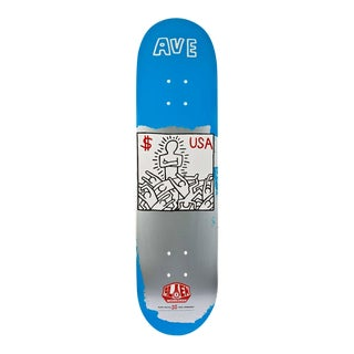 Limited Edition Keith Haring Skate Deck For Sale