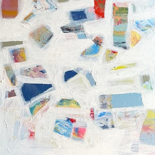 """""""Tell Me What Is Your Color"""" Contemporary Abstract Expressionist Acrylic Painting by Brenna Giessen For Sale"""