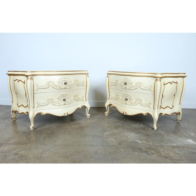 French Chest of Drawers - Pair - Image 2 of 11