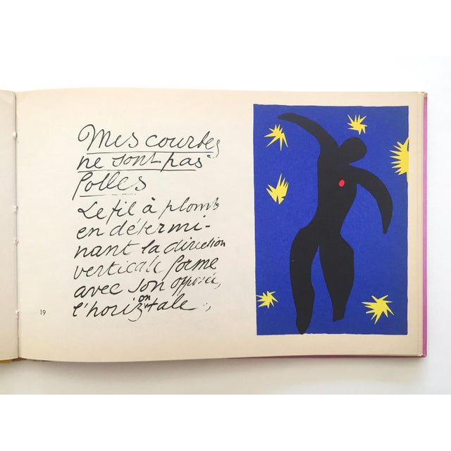 "Henri Matisse "" Jazz "" Rare 1st Edition Vintage 1960 Lithograph Print Museum of Modern Art Collector's Hardcover Art Book For Sale - Image 9 of 13"