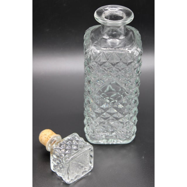 English Antique English Crystal Decanter For Sale - Image 3 of 13