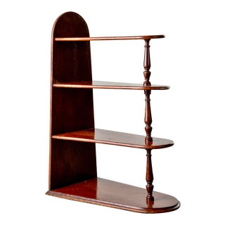 Early 20th Century Small 4 Shelf Display Table or Etagere For Sale