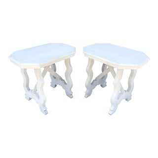 Spanish Baroque Side Tables - A Pair For Sale