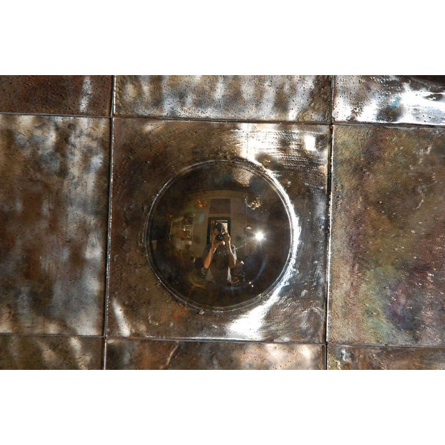 2010s Paul Marra Contemporary Convex Mirror For Sale - Image 5 of 8