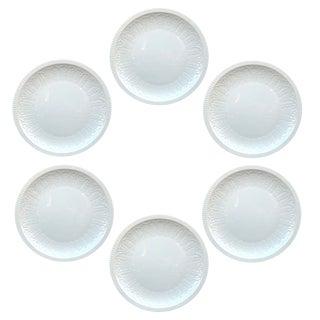 Vintage Spanish Porcelain Plates - Set of 6 For Sale