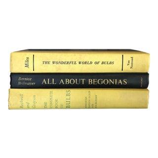 Vintage Botanical Books - Set of 3 For Sale