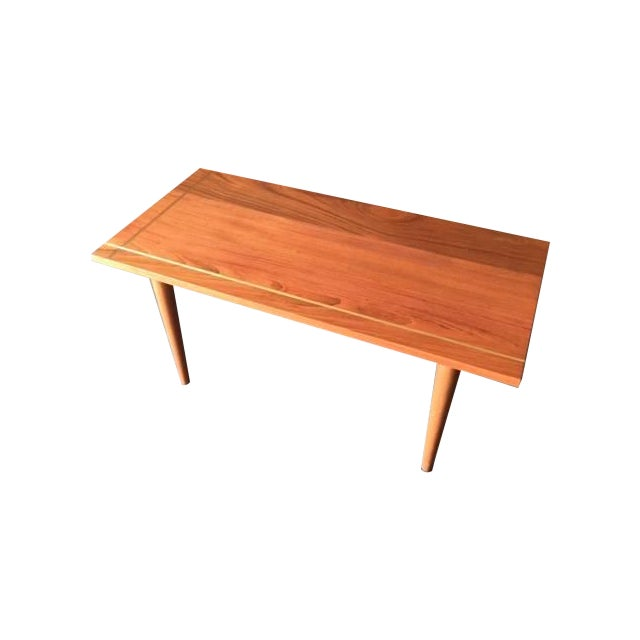 Hand Made Mid-Century Style Coffee Table - Image 1 of 6