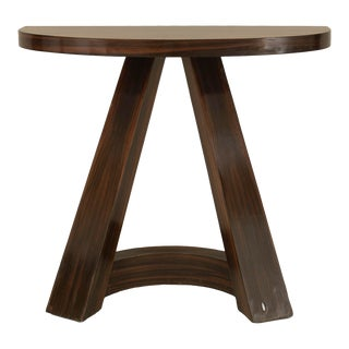 Italian 1940s Rosewood Console Table For Sale