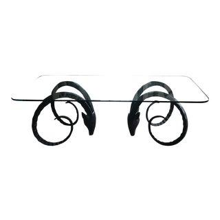 Mid-Century Modern Ibex Dining Table