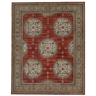 Schumacher Patterson Flynn Martin Amritsar Hand-Tufted Wool Modern Rug - 8' X 10' For Sale
