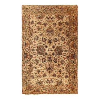 Pasargad Indo Agra New Zealand Wool Rug - 5′ × 8′ For Sale