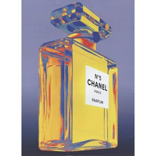 Vintage Chanel Perfume Print For Sale